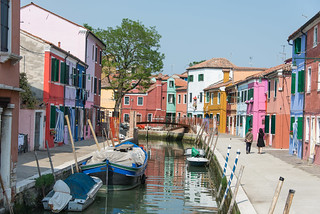 A new bridge on the Fondamenta di Terranova at Burano