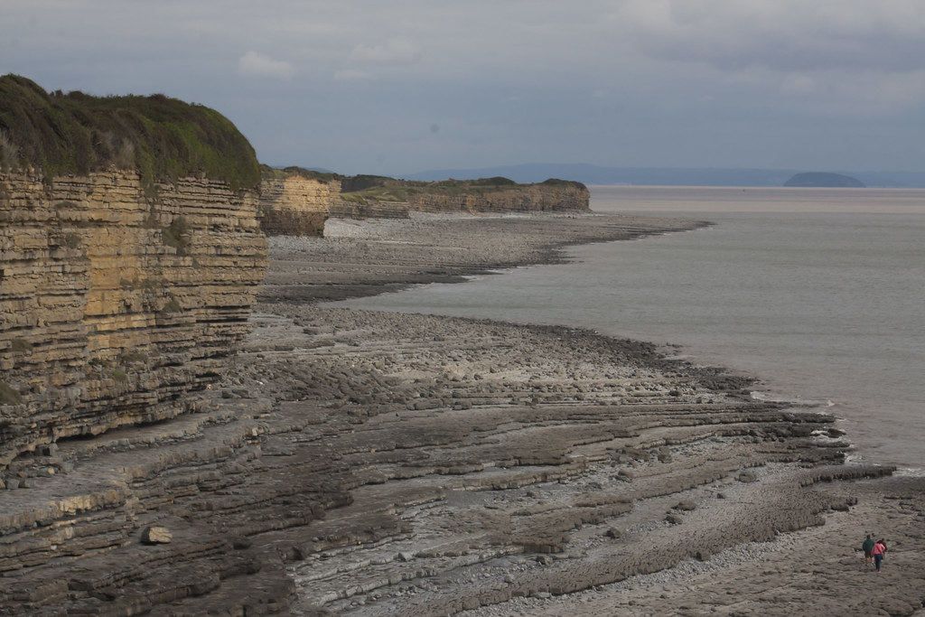 Font-y-Gary Bay, Vale of Glamorgan, south Wales, UK