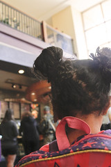 At Starbucks - Starr Pass (Immature Animals) Tags: arizona girl tucson starbucks backpack shoulder