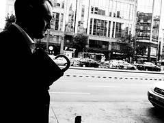PULLED HEART (Galantucci Alessandro) Tags: street city portrait people blackandwhite bw white black monochrome contrast photography monocromo town eyecontact europe strada hungary gente candid budapest streetphotography documentary east persone grainy fotografia bianco ritratto nero biancoenero citt contrasto fotografiadistrada documentaristica