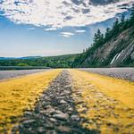 Street Perspective. Cabot Trail - Cape Breton, Nova Scotia 2015
