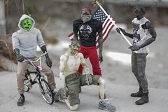 #squadgoals (wadetaylor) Tags: bmx zombie 3a zomb squad custom ashleywood onesixth threea adventurekartel threeacustom
