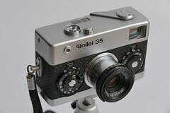 Rollei 35  ca.1973/74 (rainer.marx) Tags: leica film rollei analog 35mm lumix köln 35 kamera tessar porz kleinbild fz1000