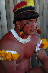 Yawalapiti (guiraud_serge) Tags: brazil portrait brasil amazon indian tribe ethnic indien matogrosso indio labret brsil tribu amazonie amazone forttropicale ethnie kayapo kuikuro metuktire gorotire plateaulabial hautxingu parcduxingu sergeguiraud artducorps ornementcorporel