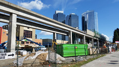 Metrotown Skytrain station construction September 2015 (D70) Tags: summer canada station last construction day bc columbia september burnaby british skytrain translink metrotown 2015