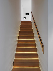 Alpine House by Ralph Germann architectes (inspiration_de) Tags: lighting inspiration architecture stair woodenstairs