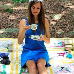 Wonderland Pt. 2 (Melody K Photography) Tags: portrait people selfportrait girl photography outdoor conceptual wonderland teaparty aliceinwonderland