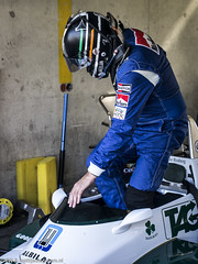 2015 Zandvoort Historic GP: Williams FW08 (8w6thgear) Tags: williams f1 historic grandprix formula1 zandvoort gp paddock cosworth 2015 pitbox fw08 pitgarages fiamastershistoricformulaonechampionship