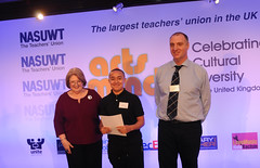 Ciaran Brazier (nasuwt_union) Tags: nasuwt education conference woman man black white speaking stand hall meal drinks happy members workshop pesident birmingham banner meeting stage positive portrait guidance crowd teachers leaders lectures students awards executive staff show tell help advice support listen adults people england scotland northern ireland wales strong women men insturction health safetly wellbeing classroom school college university table voting union best brilliant workplace seminar