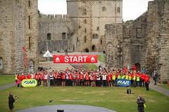 OA start line in castle