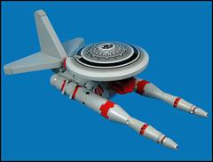 Surveillance VViper (Karf Oohlu) Tags: lego surveillance vv moc microscale vicviper microspacetopia surveillanceviper