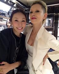 thanks、mizuyo! #MONCLERGINZA #Terryrichardson #mizuyoyoshida #steadystudy #fashion #marinatsuki #natsukirock #夏木マリ