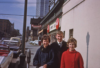 Well dressed young adults  March 1964