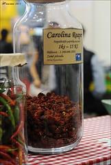 Carolina reaper (Hansmannn) Tags: prague heat carolina chilli hotness shu units scoville 2015 reper 2200000 cannafest
