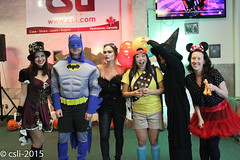 CSLI Halloween Graduation Party 2015
