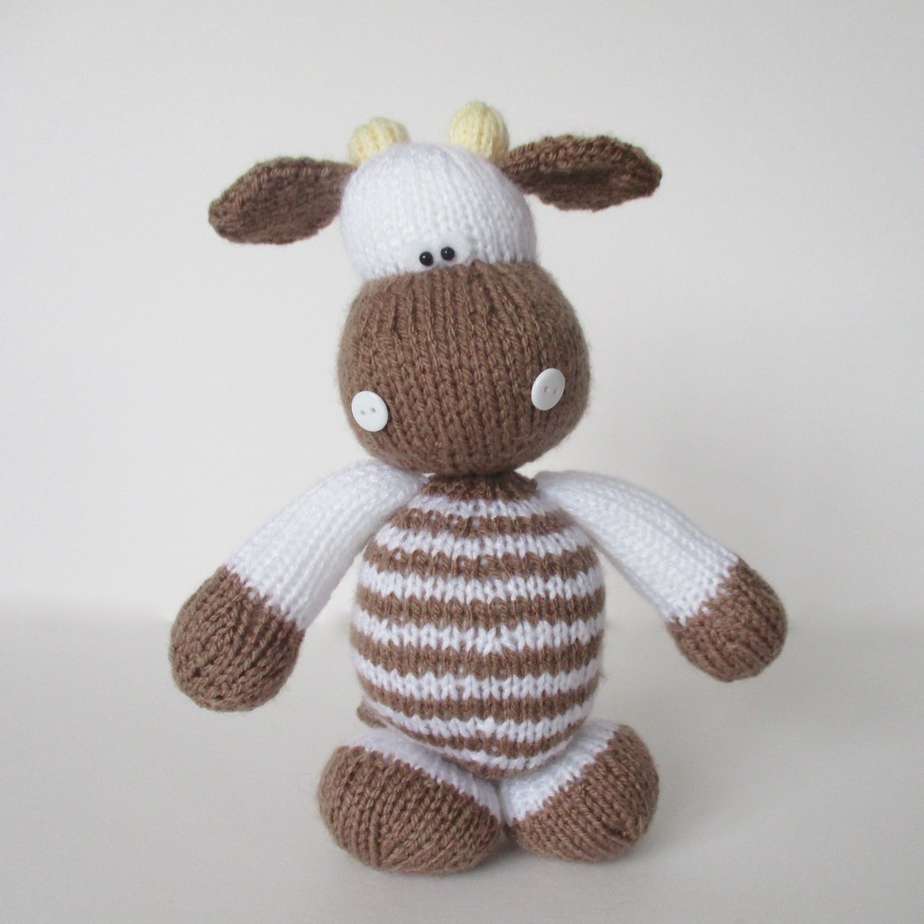 Knitting Pattern Cow Toy : The Worlds Best Photos of cow and knitting - Flickr Hive Mind