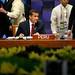 Presidente Ollanta Humala participó en la inauguración del primer retiro de dignatarios que asisten a la XXIII Cumbre del Foro APEC en la ciudad de Manila (Filipinas)