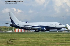Air X Charter 9H-OME Boeing 737-500 Stansted Airport (bananamanuk79) Tags: flying airport aircraft jets airplanes planes boeing stansted stanstead stn planespotting boeing737 737500 airxcharter 9home