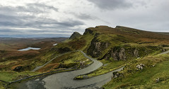 The Quiraing, Isle of Skye, Trotternish, Scotland (davidmsim) Tags: uk mountains skye beautiful island scotland highlands scenery isleofskye unitedkingdom britain scottish staffin quiraing scottishhighlands ilobsterit