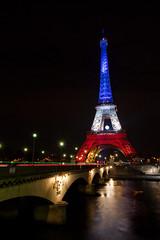 _MG_7718 (Laurent Garric) Tags: blue red white paris france tower french rouge novembre tour flag eiffel bleu hommage 13 blanc franais drapeau tricolore 2015 attentats