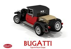 Bugatti Type-44 Fiacre Coupe (1929) (lego911) Tags: auto 1920s classic car vintage model lego render veteran bugatti coupe challenge 44 97 cad lugnuts 1929 povray diecast moc ldd fiacre miniland type44 typ44 lego911 ourfirstwheels