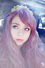 Princess Bubblegum (Aleksa Castell) Tags: moon anime cosplay magic longhair wig mystical mystic purplehair  magik       adventuretime