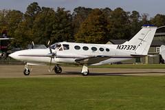 Private Cessna 421C Golden Eagle N37379 (Bradley at EGSH) Tags: private duxford dux iwm iwmduxford egsu duxfordaerodrome cessna421cgoldeneagle n37379