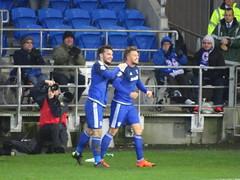 DSC03584 (joncandy) Tags: city wednesday photo football championship image stadium soccer sheffield cardiff picture bluebirds swfc ccfc