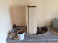 RMH0052 (velacreations) Tags: rmh woodburningstove rocketmassheater