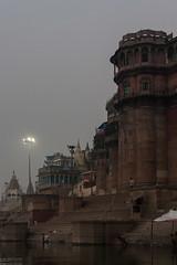 Bhonsale Palace, Varanasi (ghostwheel_in_shadow) Tags: india river asia stair steps palace varanasi kashi ganges banaras benares ghat uttarpradesh banares publicarchitecture architecturalelement architectureandstructures bhonsaleghat bhonsalepalace