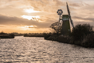 Turf Fen windmill, How Hill, Norfolk, UK (8)