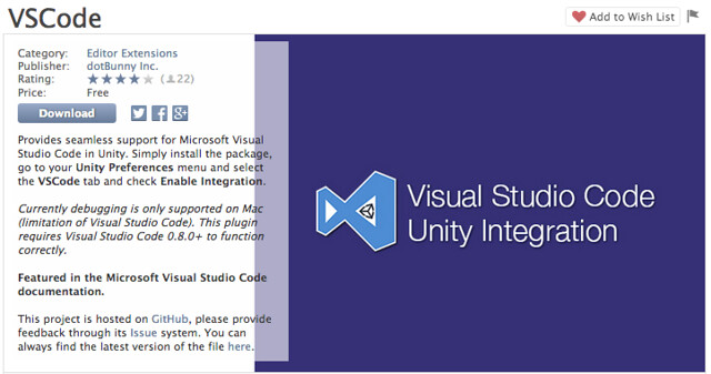 [Unity] Visual Studio Code