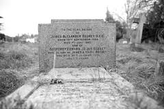 Family grave of James Alexander Beeney D.F.C. (IanAWood) Tags: pinner londoncemeteries londonboroughofharrow walkingwithmynikon nikkorafs24mmf14g pinnercemetery nikondf