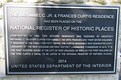 Nathaniel C. Jr. & Frances Curtis residence - National Register of Historic Places plaque - 6161 Marquette Place, New Orleans, Louisiana (Monceau) Tags: new orleans louisiana place neworleans historic uptown nola residence nationalregisterofhistoricplaces usdepartmentoftheinterior nathanielccurtis francescurtis 6161marquetteplace openplaques:id=40615