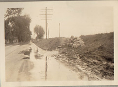 High Water on Hwy 51, 9-1938, 1