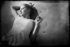(hoffmannmartin21) Tags: light summer blackandwhite model mood dream romantic shooting anima blackandwhiteportrait summergirl dremy
