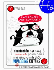 DAT HANG (tuongntm) Tags: implodingkittens imploding kitten mèo nổ mở rộng exploding meono boardgame board game gia re vietnam danang đà năng sài gòn hà nội thanh hóa nghệ tĩnh nam định tamky tam kỳ toàn quốc hội cafe