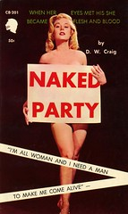 Chariot Books 201 - D.W. Craig - Naked Party (swallace99) Tags: chariot vintage 60s sleaze paperback bettybrosmer