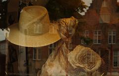 Beloved Brugge (Natali Antonovich) Tags: belovedbrugge brugge bruges belgium belgique belgie reflection hat hats hatisalwaysfashionable lifestyle vigorousitems tradition parallels oldtown