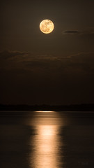 October Supermoon Digitally Harvested (NEXtographer) Tags: outdoors night canonef300mmf28lisiiusm moon a7rii outside pensacola light water emount fullmoon sony supermoon mirrorless florida clouds