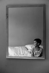 (Inspiring pieces) Tags: dublin bw sombre kid bedroom bed mirror white black noir rodolfoalcaraz