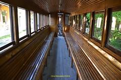 "The Pelion train, also called "" The De Chirico  train "" DSC_2372 (Chris Maroulakis) Tags: pelion thessaly train dechirico volos mileai interior carriage wagon nikon d7000 chris maroulakis 2016"