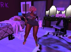 When you bored af && don't have night buddies. (.As V D. || S.W.D) Tags: asifa vanya destinii demina video dancing syncd pjs truth hair shirt sl secondlife second life virtual game reality night bored dem sugar