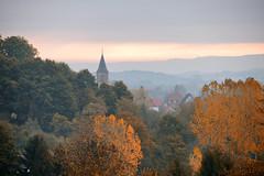 C'est l'automne (Croc'odile67) Tags: nikon d3300 sigma contemporary 18200dcoshsmc paysage landscape automne autumn brume arbres trees mist