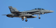 F/A-18F A44-224 1Sqn - Royal Australian AF (C.Dover) Tags: 1sqn 167980 a44224 australia australianaf fa18f nellisafb raaf rf161 redflag