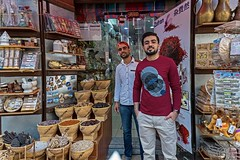 Young brothers from Afghanistan (zol m) Tags: street klickr trader shopkeeper spice uae spicesouk grandsouk dubai zolmuhd xpro2 fujinon fujifilm zolsimpression