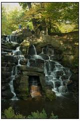 0070, Waterfall,08.12x8 (mikeinfleet) Tags: virginiawater surrey waterfall falls water