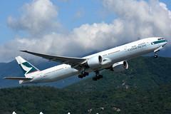 Cathay Pacific B-KPS (Howard_Pulling) Tags: hongkong airport hk china howardpulling nikon d7200 camera picture transport asia