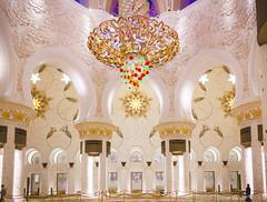 Sheik Zayed Mosque II (World SuperPhoto) Tags: sheik zayed mosque abu dhabi uae travel world interior inside photography