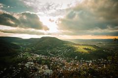 spotlight (Margot in Love) Tags: nature natur aussicht view rosenstein schwbischealb badenwrtemberg green grn himmel sky heubach